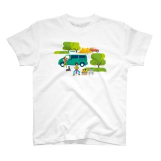 T18.設営おじさん Tシャツ
