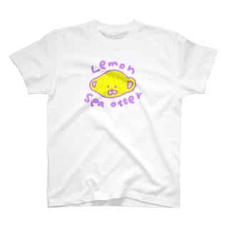 Lemon sea otter Tシャツ