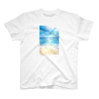 海辺 Tシャツ