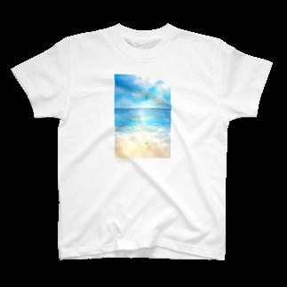 ☆tm3.☆の海辺 Tシャツ
