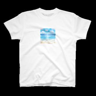 ☆tm3☆の海辺 Tシャツ