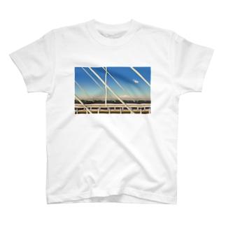 是政橋と女 Tシャツ