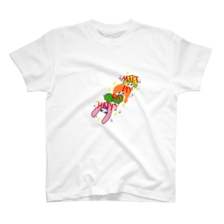 『MAKE MY DAY HAPPY』 Tシャツ