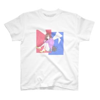 おんなのこ Tシャツ