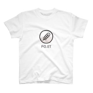 仮想通貨 Po.et  [B] Tシャツ