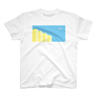 POTAGEのSky-Fly01 Tシャツ
