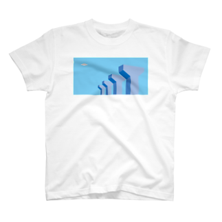 POTAGEのSky-Fly04 Tシャツ