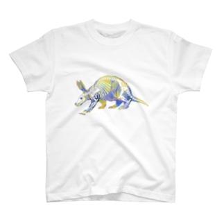 ツチブタのホネ[White] Tシャツ