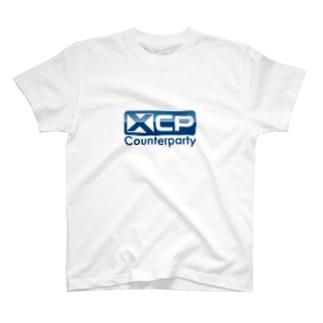 仮想通貨 Counterparty  [C] Tシャツ