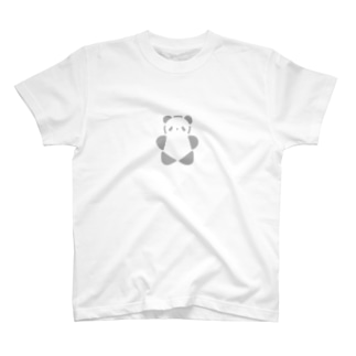 SIROPANDAワンポイント(大)(Gray) Tシャツ