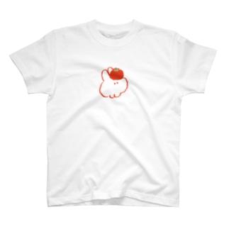 トマトとウサギ Tシャツ