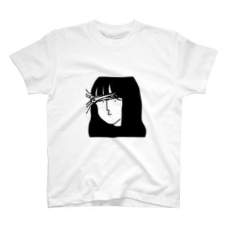 前髪5ミリメートル Tシャツ