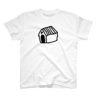 ポチ外出中 Tシャツ