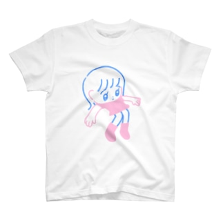 浮いた Tシャツ