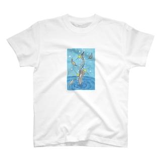 「白鳥の湖」 Tシャツ