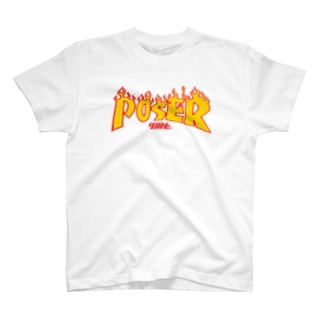 I'm just poser☺ Tシャツ