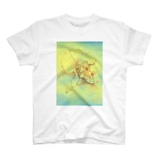 【金魚】土佐錦魚~今日ははるか未来から見たあの日~ Tシャツ