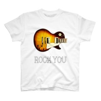ROCK YOU 背景透過 Tシャツ