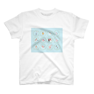 【HappyUnbirthday!2ndmember】 Tシャツ