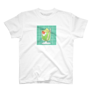 メロンクリ~ムソーダ Tシャツ
