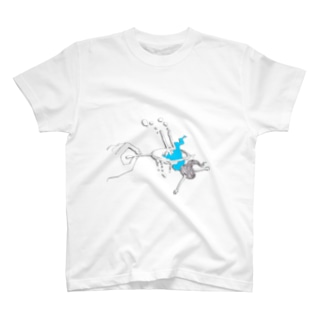 女の子掬いT* Tシャツ