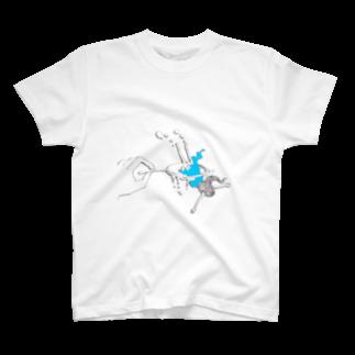 倉田姉妹店の女の子掬いT* Tシャツ