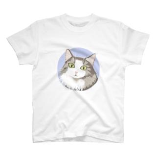 おキャットさま Tシャツ