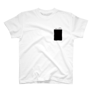 MARU&SHIPPO SHOPのPocket hohe Tシャツ