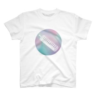 ゆnovaitonの鍵ハモ Tシャツ
