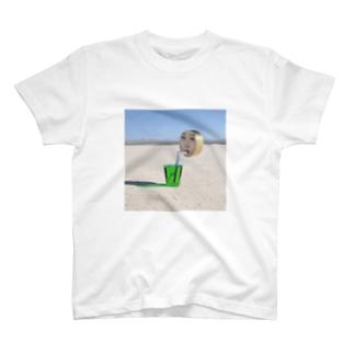 まるがお02 Tシャツ