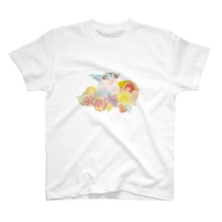フクロモモンガVer.8 Tシャツ