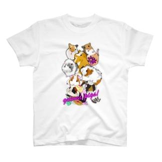 モルモット大集合2 Tシャツ
