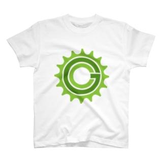 Green Cog Cog Logo Tシャツ