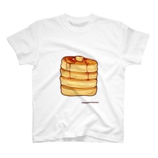 ふわふわホットケーキ Tシャツ