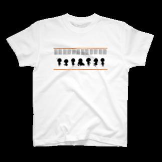 ぽわんちゃんのぷちぽわんちゃんTシャツ
