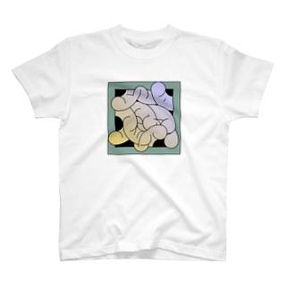 やわらかそうな絵画 Tシャツ