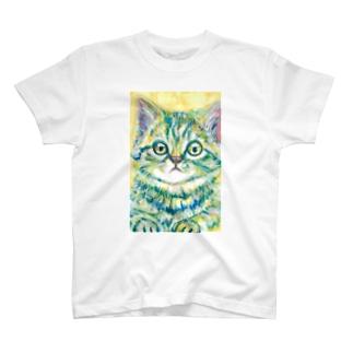 ねこ4 Tシャツ