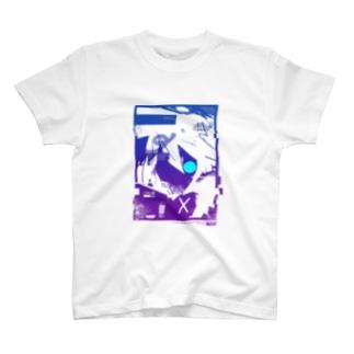 グラデト[COLLAPSED] Tシャツ