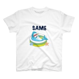 陸にサメがいたっていいじゃない Tシャツ
