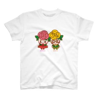 ばららちゃんとばらおくん Tシャツ