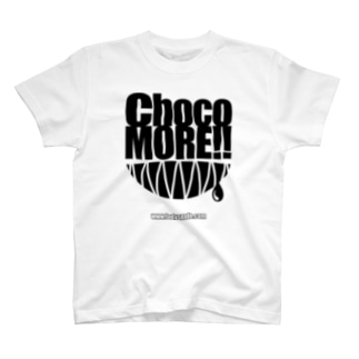ChocoMORE!! (復刻版・ホワイトボディ向け) Tシャツ