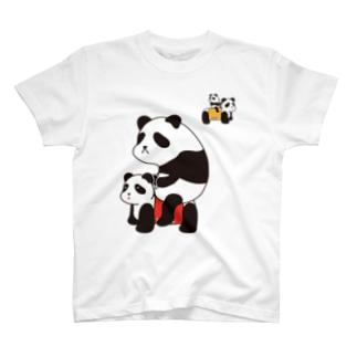 パンダカー Tシャツ