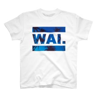 WAI×DEEPBLUE Tシャツ