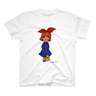 ほっかむねこ屋@9/3−9 東急ハンズ池袋1Fの魔女 Tシャツ