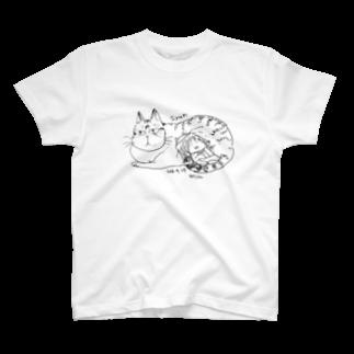 ほっかむねこ屋@9/3−9 東急ハンズ池袋1Fのsyan Tシャツ