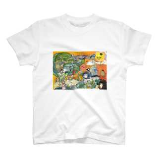 ほっかむねこ屋@ 11/10 11 デザインフェスタ@東京ビッグサイト J68のブロッコリーの唄 Tシャツ