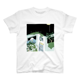4月の柄 Tシャツ