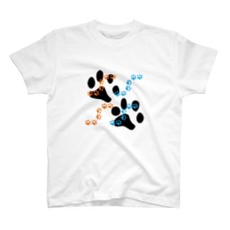 肉球 Tシャツ
