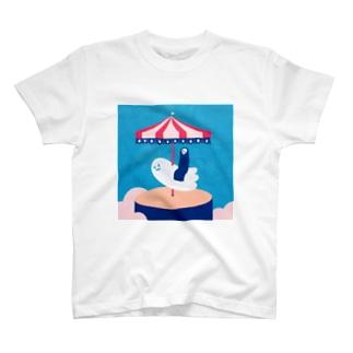 お休みの日 Tシャツ
