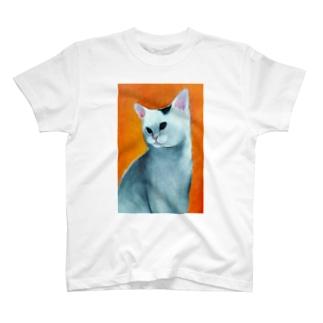 ふざけたねこ Tシャツ